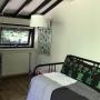 slaapkamer met uitschuifbed
